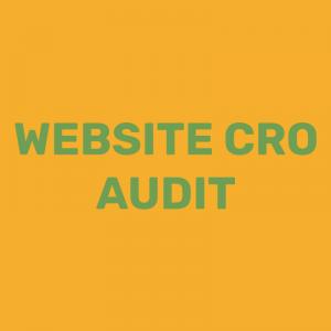 Website CRO Audit